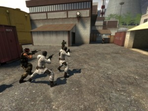 Counter Strike Source, en plein combat