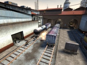 Counter Strike Source, explosion
