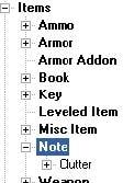Tuto Fallout 3 GECK - Terminaux et Notes