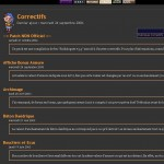 Quelques correctifs pour Morrowind, sur Wiwiland
