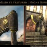 Texture d'hache runique - Oblivion