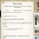 Ancienne version de Playmod
