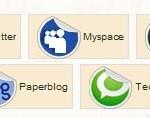 Barre de navigation sociale de PlayMod