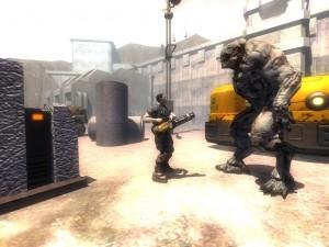 Je n'aimerais pas me frotter à ce monstre de Doom 3 Demon Wars