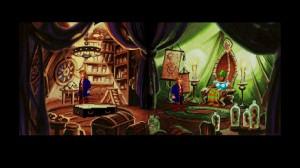 La scène originale de Monkey Island 2 Lechuck's Revenge