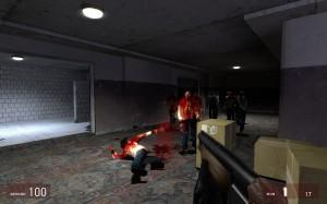 Faites coucou aux zombies d'Half-Life 2