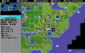 Sid Meier's Civilization, le premier opus date de 1991