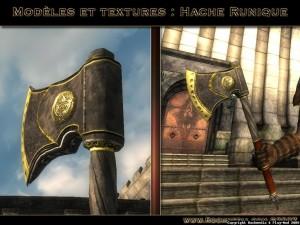 Un noueau modèle 3D d'arme pour Oblivion