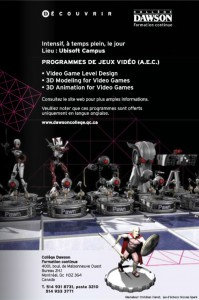 Ubisoft Campus, l'une des formations aux métiers du jeu vidéo