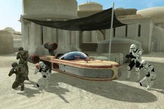Des véhicules dans le mod StarWars Galactic Warfare ?