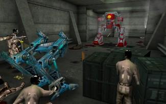 Scène de combat de The Nameless Mod