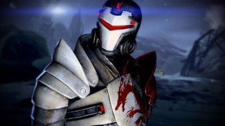 L'armure du Dragon Rouge de Mass Effect 2
