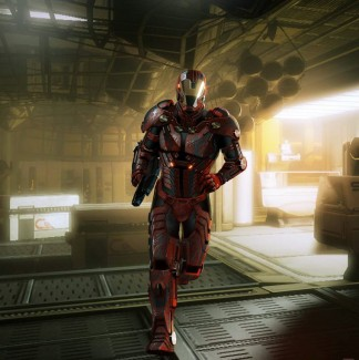 L'armure Inferno de Mass Effect 2