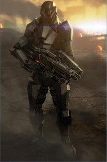 L'armure Terminus de Mass Effect 2