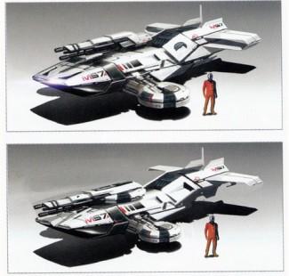 Le Hammerhead, un futur véhicule de Mass Effect 2