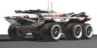Le Mako, souvenir de Mass Effect 1