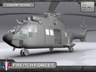 Hélicoptère French forces Battlefield 2