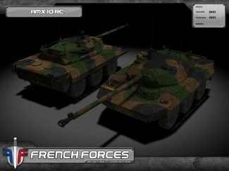 French Forces un mod Battlefield 2