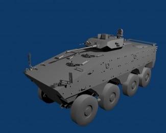 Un véhicule typiquement français dans French Forces