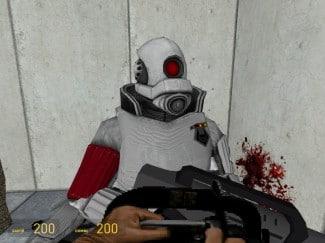 La tronçonneuse de Doom sur Garry's Mod