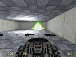 BFG 9000, une arme du Classic Doom Addon