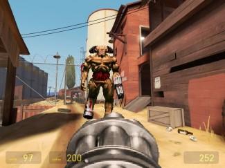 Monstre du Classic Doom Addon de Gmod sur Half Life 2